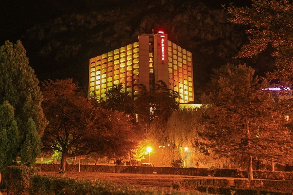 hotel afrodita baile herculane