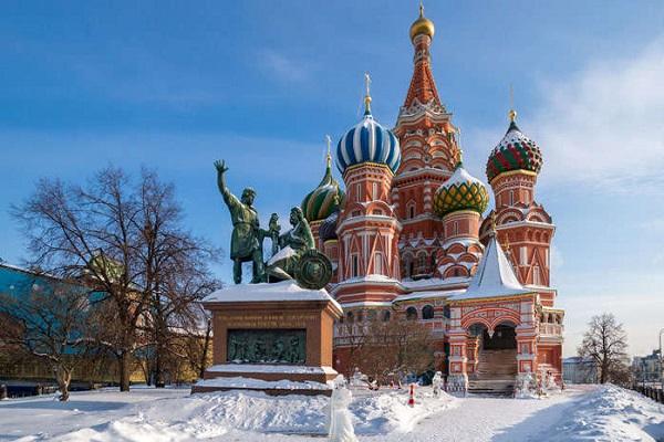 Revelion 2018 Rusia